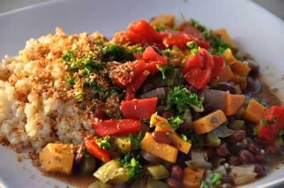 Brazilian vegetarian feijoada bean stew che gourmet brazilian vegetarian feijoada bean stew forumfinder Choice Image